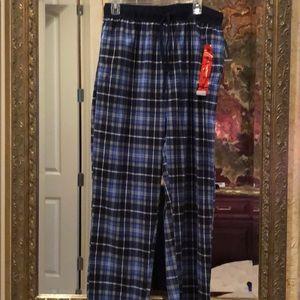 Náutica Sleep blue striped pants Medium Warm